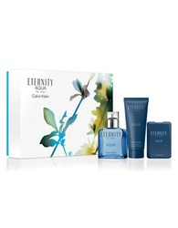 Calvin Klein Eternity Aqua Fathers Day Set 134.00 Value