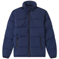 Aspesi Tic Tec Down Hooded Parka Blue