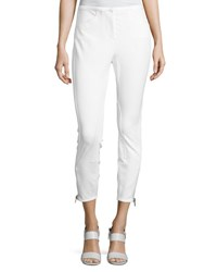 3.1 Phillip Lim Jodhpur Ankle Zip Leggings Antique White