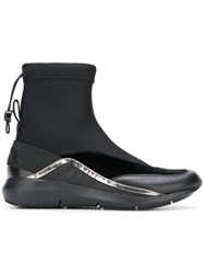Karl Lagerfeld Elasticated Ankle Boots Black