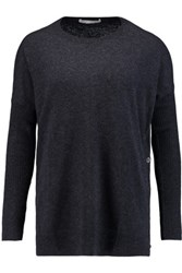 Autumn Cashmere Sweater Navy