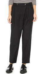 Marc By Marc Jacobs Stretch Lightweight Wool Pants Black