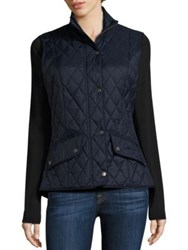 Barbour Flyweight Cavalry Quilted Gilet Navy