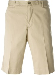 Canali Bermuda Shorts Nude And Neutrals