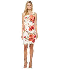 Jessica Simpson Printed Scuba Dress Print Multi