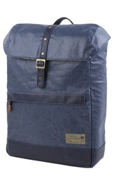 Hex 'Alliance' Water Resistant Backpack Blue Coated Denim