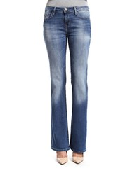 Mavi Jeans Ashley Distressed Bootcut Blue