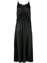 Alexander Wang T By Strappy Plunge Dress Black