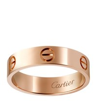 Cartier Pink Gold Love Ring Multi