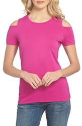 1.State Women's Cold Shoulder Tee