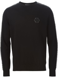 Philipp Plein 'End Of Me' Sweater Black