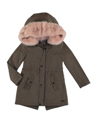 Mayoral Duffle Coat Kg Champagne