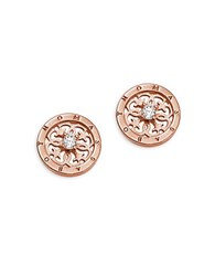 Thomas Sabo Ornament Sterling Silver Stud Earrings