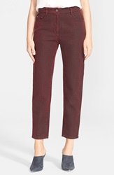 3.1 Phillip Lim Crop Saddle Jeans Ruby