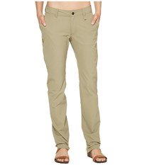 Fjall Raven Abisko Stretch Trousers Savanna Women's Casual Pants Brown
