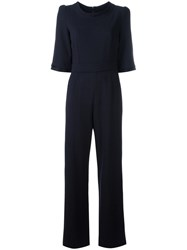 Goat Delauney Jumpsuit Blue