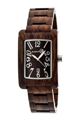 Earth Wood Unisex Earth Trunk Watch No Color