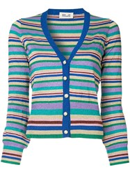 Baum Und Pferdgarten Striped V Neck Cardigan Multicolour