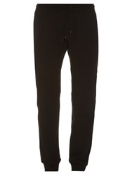 Belstaff Farlane Cotton Jersey Track Pants Black