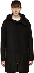 Acne Studios Black Wool Milton Coat