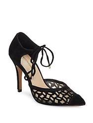Saks Fifth Avenue Catalina Pointed Toe D'orsay Pumps Black