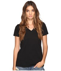 Hurley Staple Perfect V Black Women's Short Sleeve Pullover