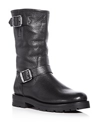 Frye Natalie Engineer Boots Black