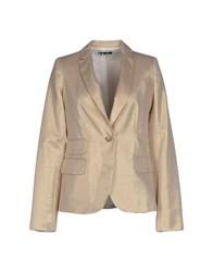 Sinequanone Suits And Jackets Blazers Women Gold