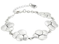 The Sak Layered Circle Line Bracelet Silver Bracelet