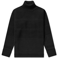 S.N.S. Herning Fisherman Roll Neck Sweat Black