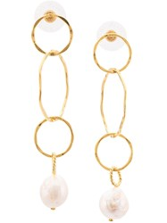 Lizzie Fortunato Jewels The Lake City Earrings Gold