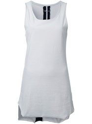 First Aid To The Injured Fasciae Tank Top Women Cotton 4 Grey
