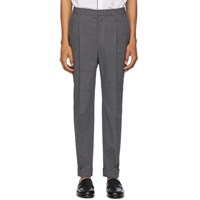 Officine Generale Grey Drew Trousers