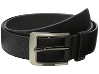 Stacy Adams 38Mm Large Pebble Grain Leather Black Men's Belts