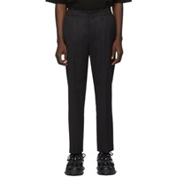 Juun.J Black Wool Trousers