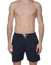 Lightning Bolt Swim Trunks Dark Blue