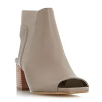 Dune Jericho Peep Toe Sandals Grey