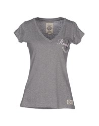 Russell Athletic Topwear T Shirts Women Grey