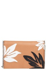 Chelsea 28 Chelsea28 Tropical Applique Chain Clutch
