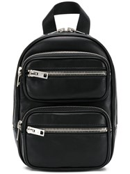 Alexander Wang Double Zipped Backpack Black