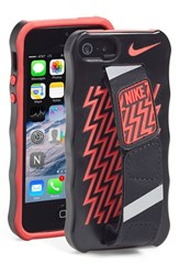 Nike Hand Strap Iphone 5 And 5S Case Black Black Crimson