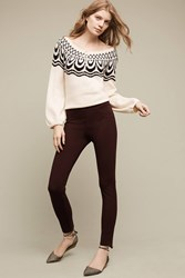 Anthropologie Gilla Leggings Chocolate