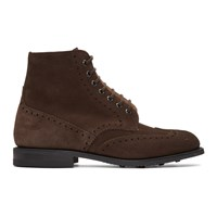Church's Brown Suede Renwick Boots