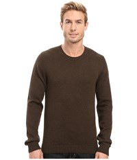 Fjall Raven Ovik Crew Sweater Dark Olive Men's Sweater