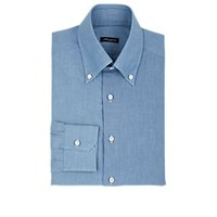 Sartorio Cotton Chambray Dress Shirt Lt. Blue