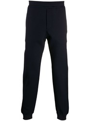 Alexander Mcqueen Skull Patch Track Pants Blue