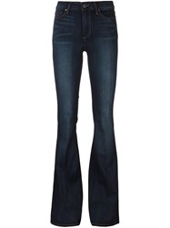 Paige Classic Flared Jeans Blue