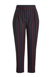 See By Chloe Cropped Striped Pants