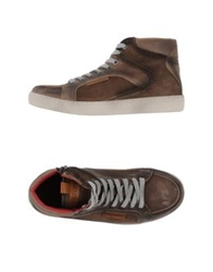 Cafe'noir Cafenoir High Tops And Trainers Dark Brown
