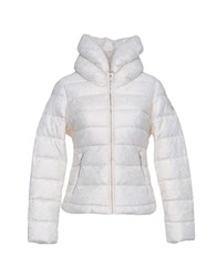Guess Synthetic Down Jackets White